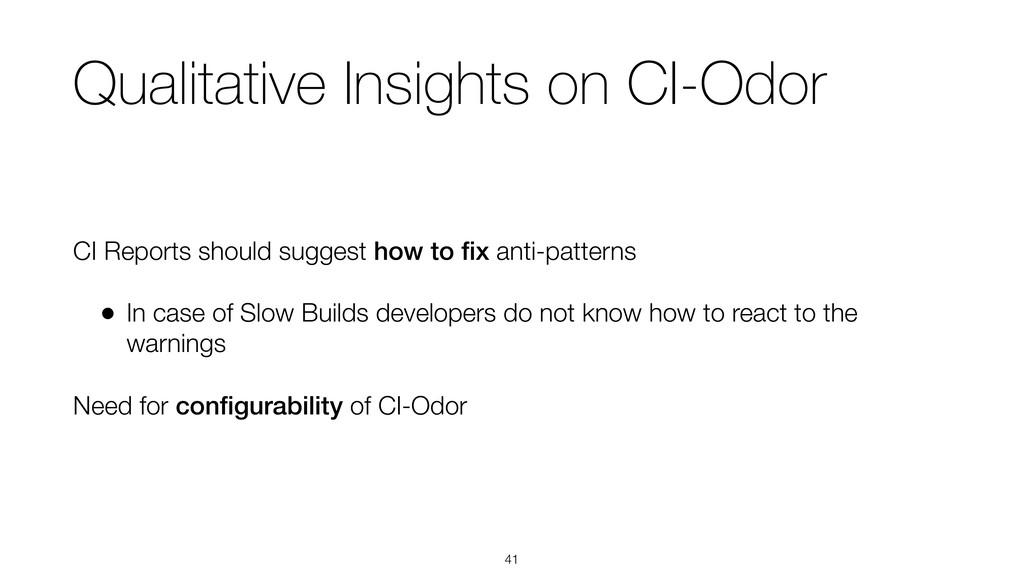 Qualitative Insights on CI-Odor CI Reports shou...