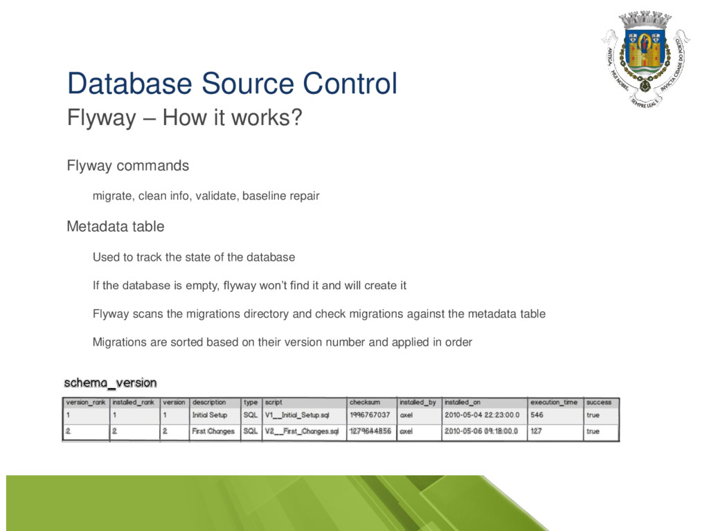 Database Source Control Flyway – How it works? ...