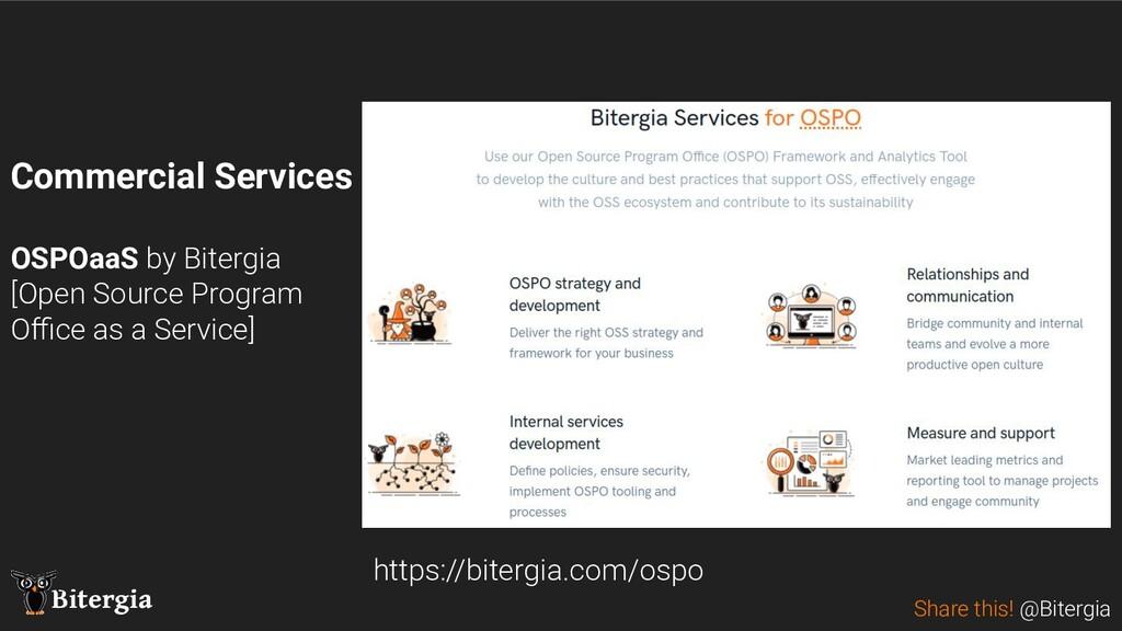 Share this! @Bitergia Bitergia https://bitergia...