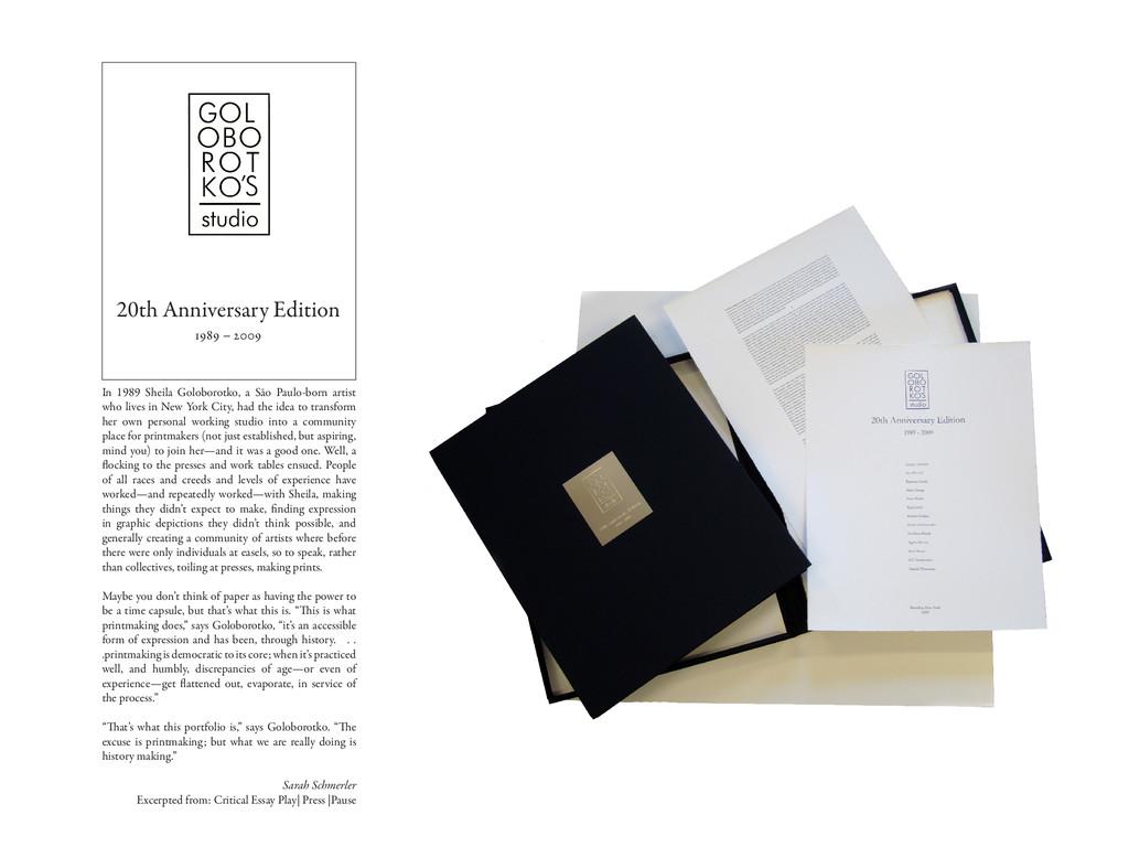 20th Anniversary Edition 1989 – 2009 In 1989 Sh...