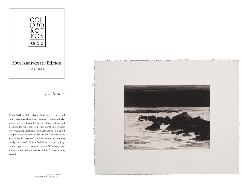 """Dark Sky and Jetty photo etching, 16"""" x 20"""", 20..."""