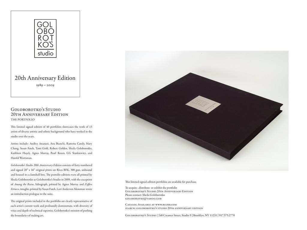 20th Anniversary Edition 1989 – 2009 Goloborotk...