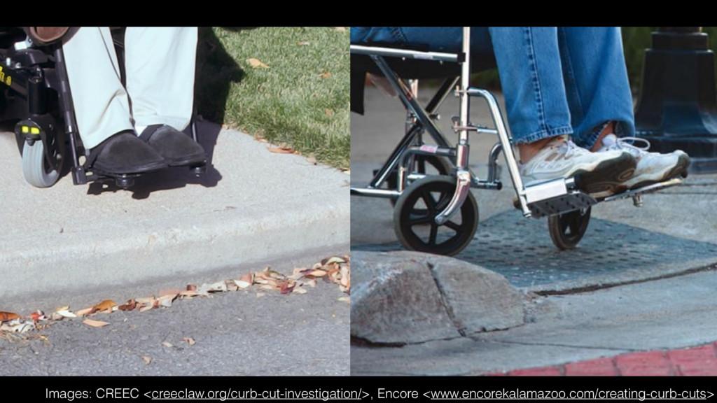 Images: CREEC <creeclaw.org/curb-cut-investigat...