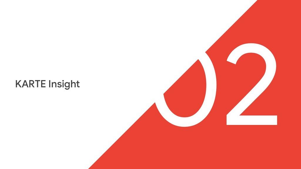 KARTE Insight 02