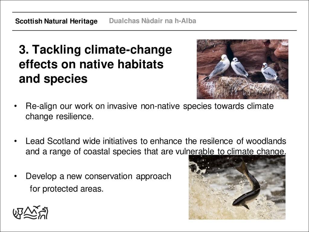 Scottish Natural Heritage Dualchas Nàdair na h-...
