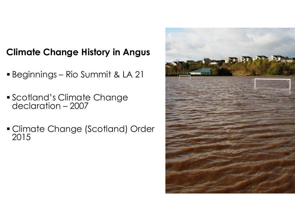 Climate Change History in Angus  Beginnings – ...