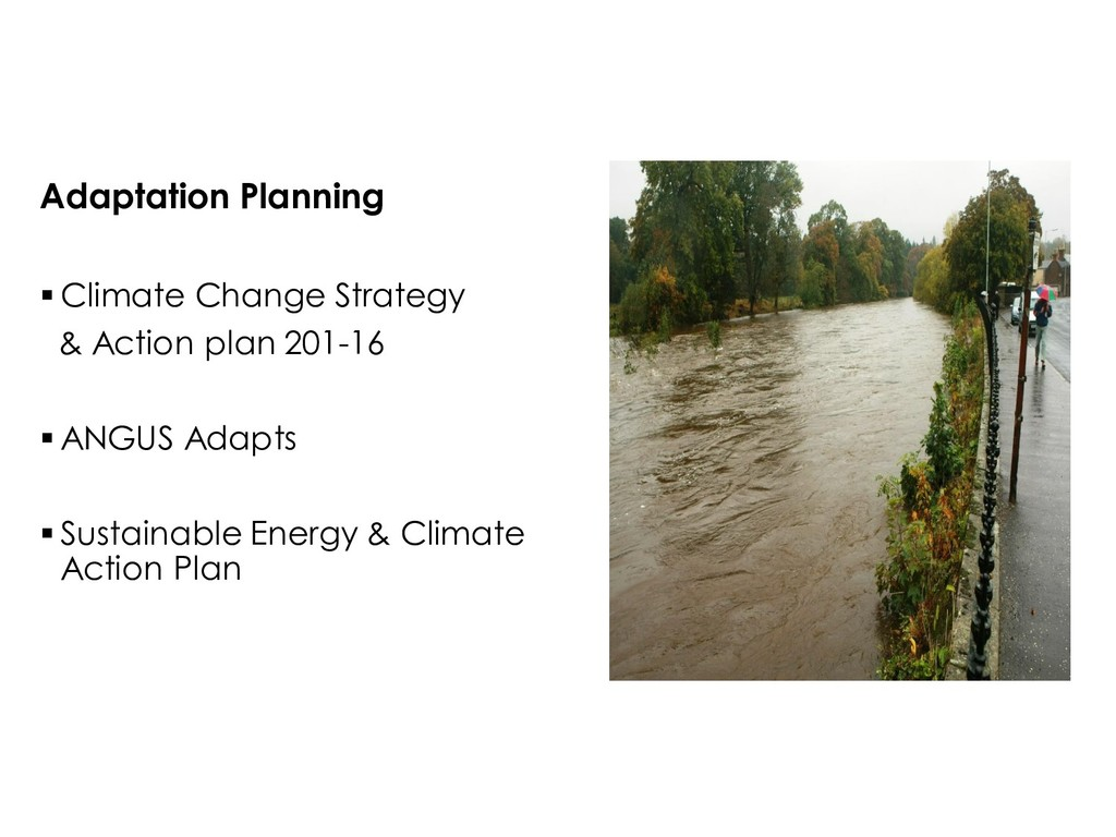 Adaptation Planning  Climate Change Strategy &...