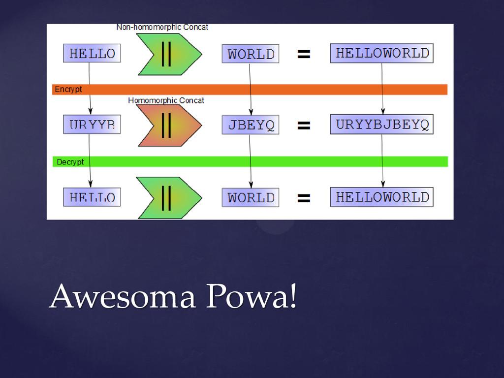 Awesoma Powa!