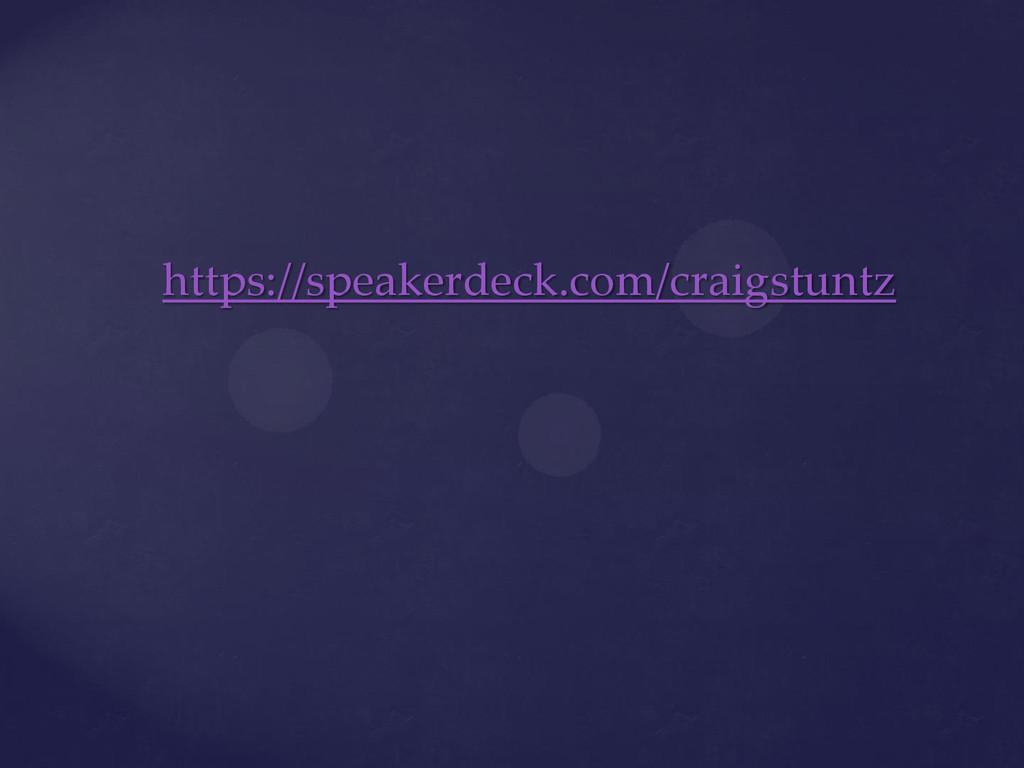 https://speakerdeck.com/craigstuntz