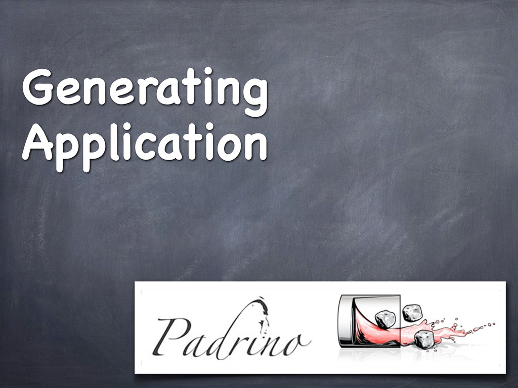 Generating Application