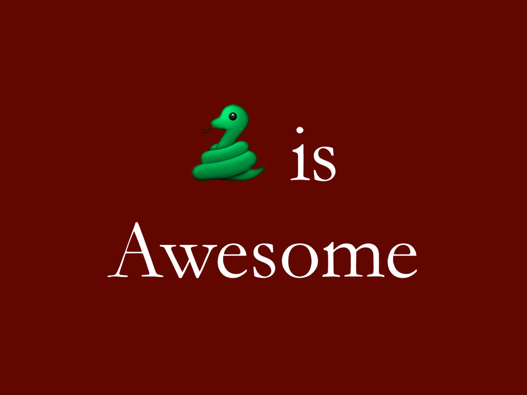 is Awesome