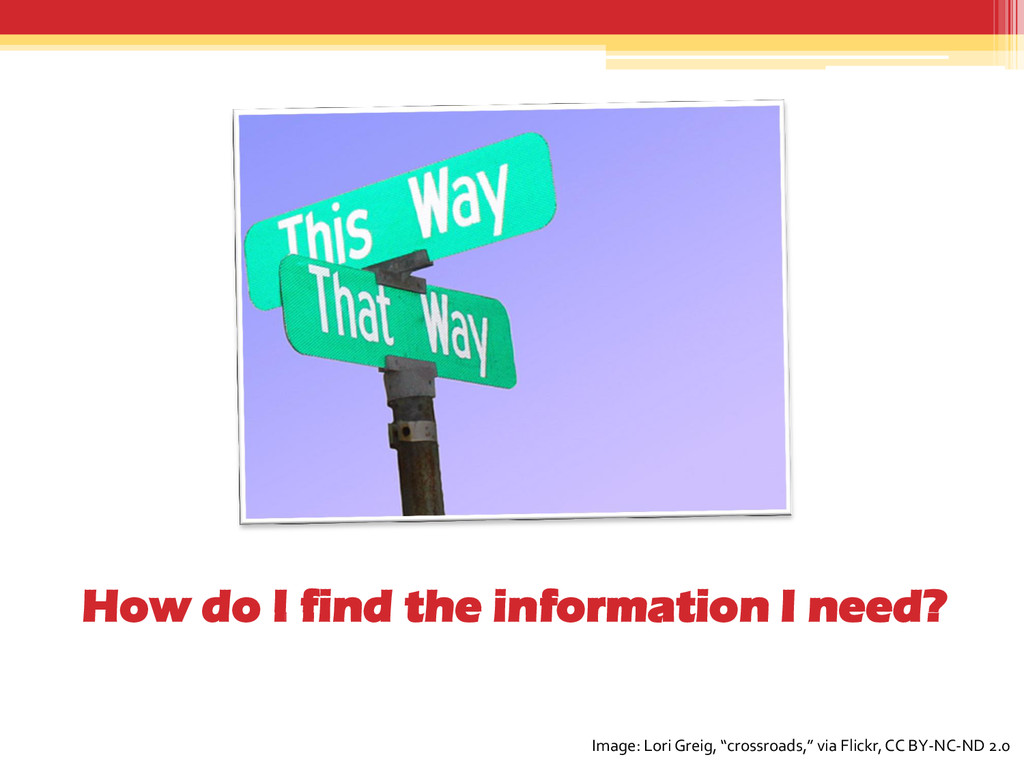 How do I find the information I need? Image: Lo...