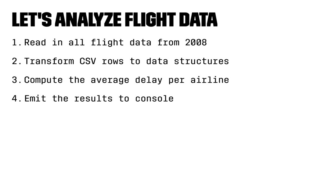 Let's analyze flight data 1.Read in all flight da...