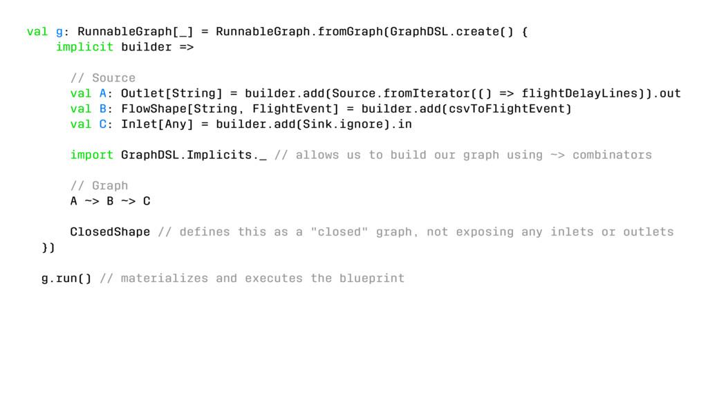 val g: RunnableGraph[_] = RunnableGraph.fromGra...