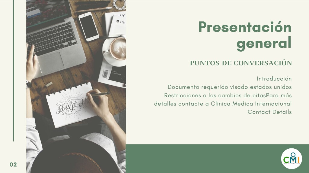 Presentación general PUNTOS DE CONVERSACIÓN Int...