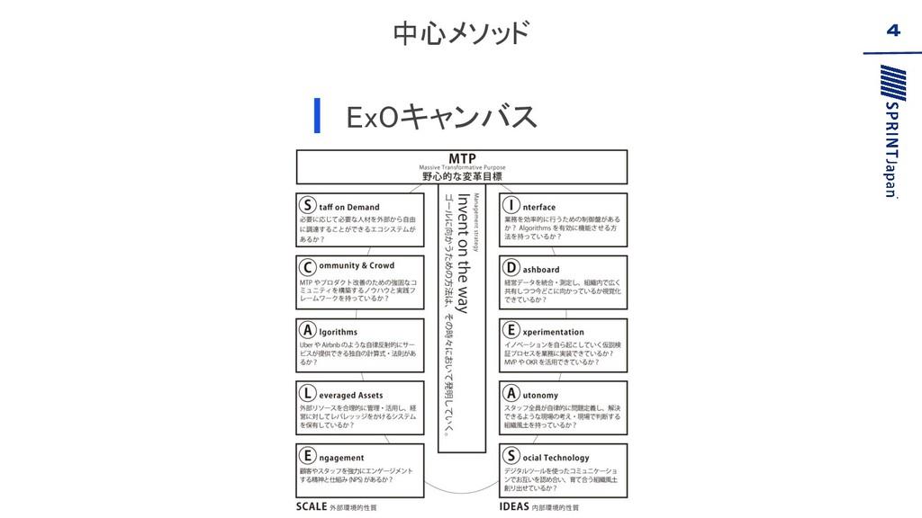 中心メソッド ExOキャンバス  4