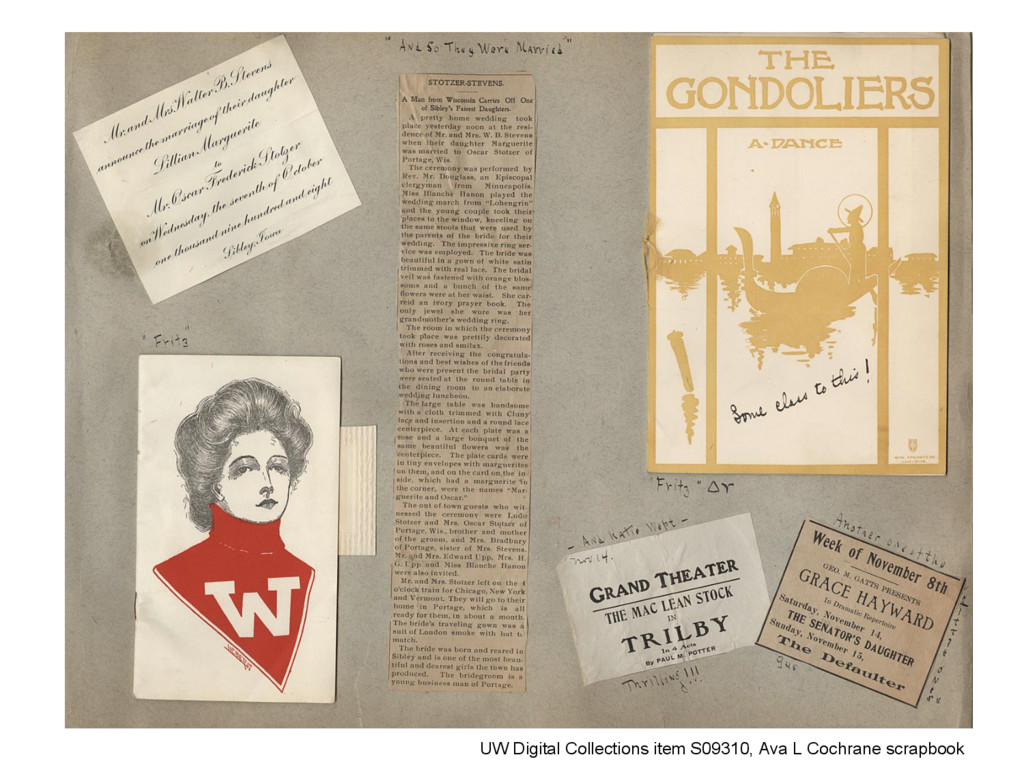 UW Digital Collections item S09310, Ava L Cochr...