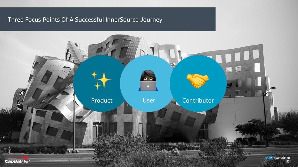 43 Product ✨ User  Contributor  Three Focus Poi...