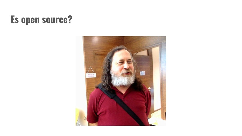 Es open source?