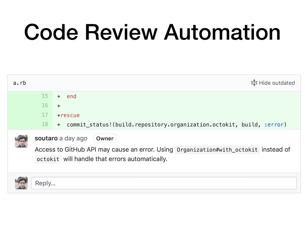 Code Review Automation