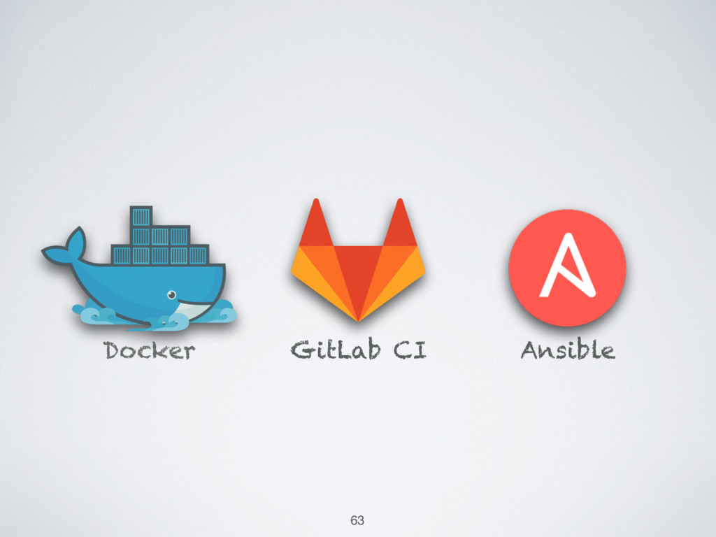 Ansible GitLab CI Docker 63