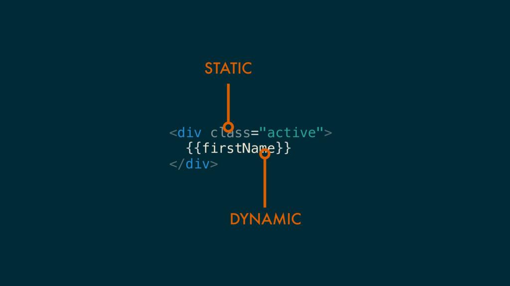 "<div class=""active""> {{firstName}} </div> STATI..."