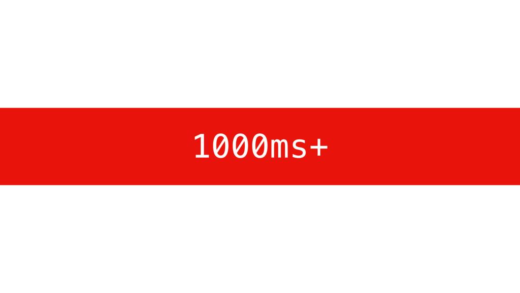 1000ms+