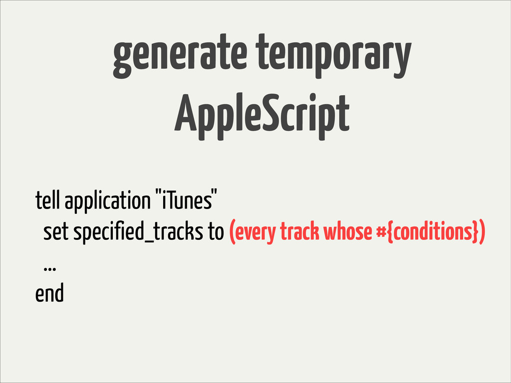 """tell application """"iTunes"""" set specified_tracks ..."""