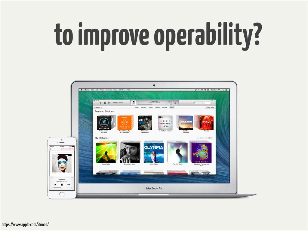 to improve operability? https://www.apple.com/i...