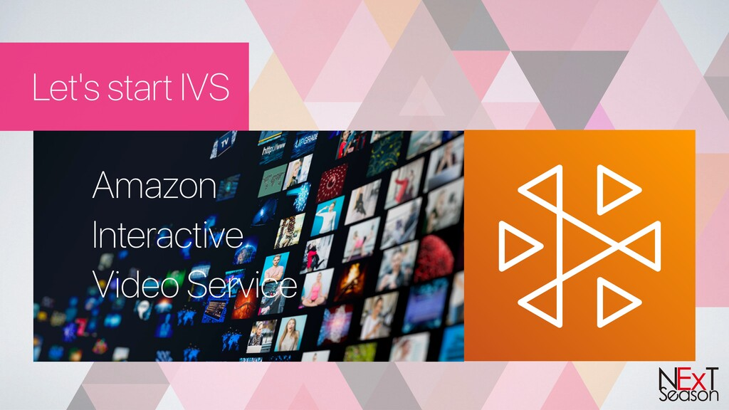 Let's start IVS Amazon Interactive Video Service