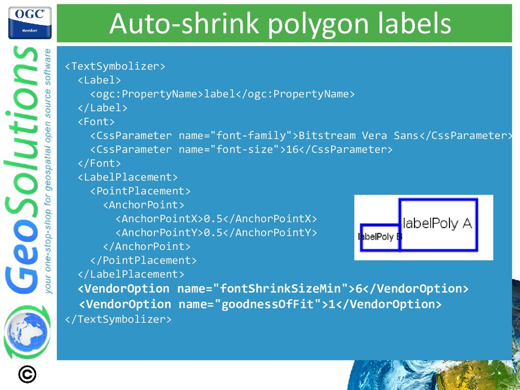 Auto-shrink polygon labels <TextSymbolizer> <La...