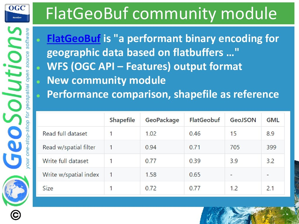"""FlatGeoBuf community module ⚫ FlatGeoBuf is """"a ..."""