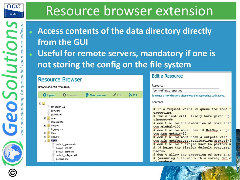 Resource browser extension ⚫ Access contents of...