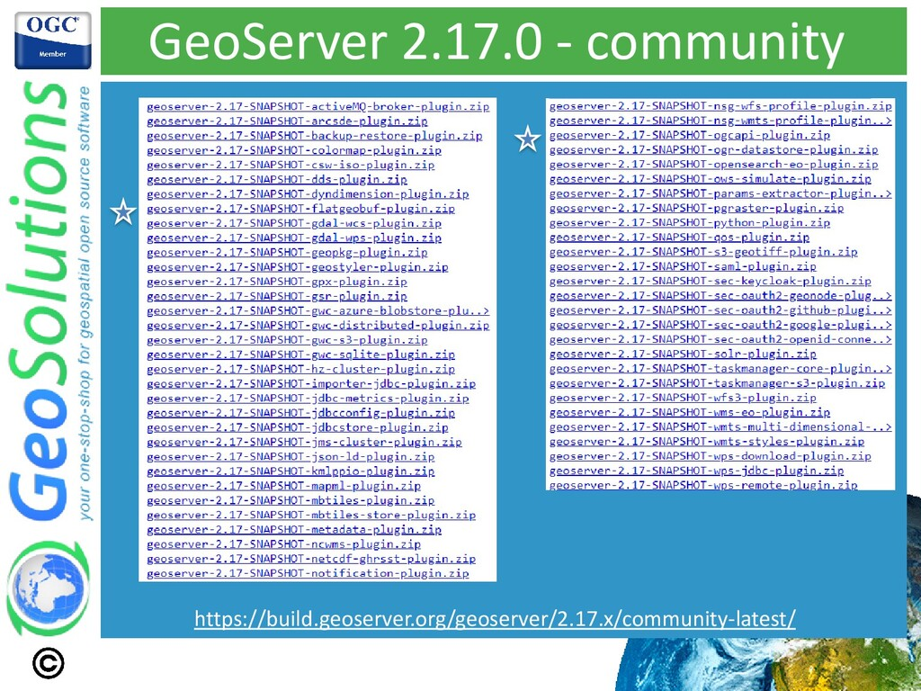 GeoServer 2.17.0 - community https://build.geos...