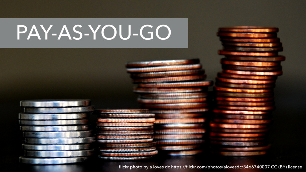 PAY-AS-YOU-GO flickr photo by a loves dc https:/...