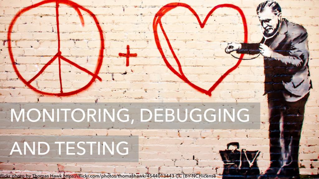 MONITORING, DEBUGGING AND TESTING flickr photo b...