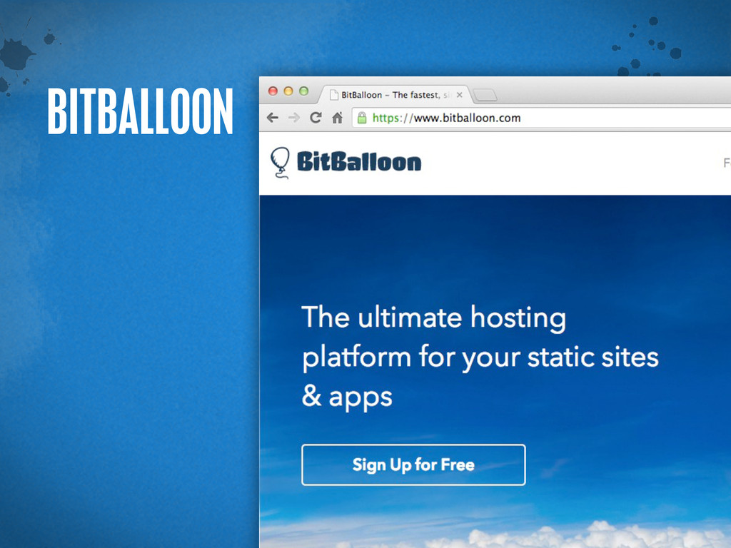 > {} t BITBALLOON