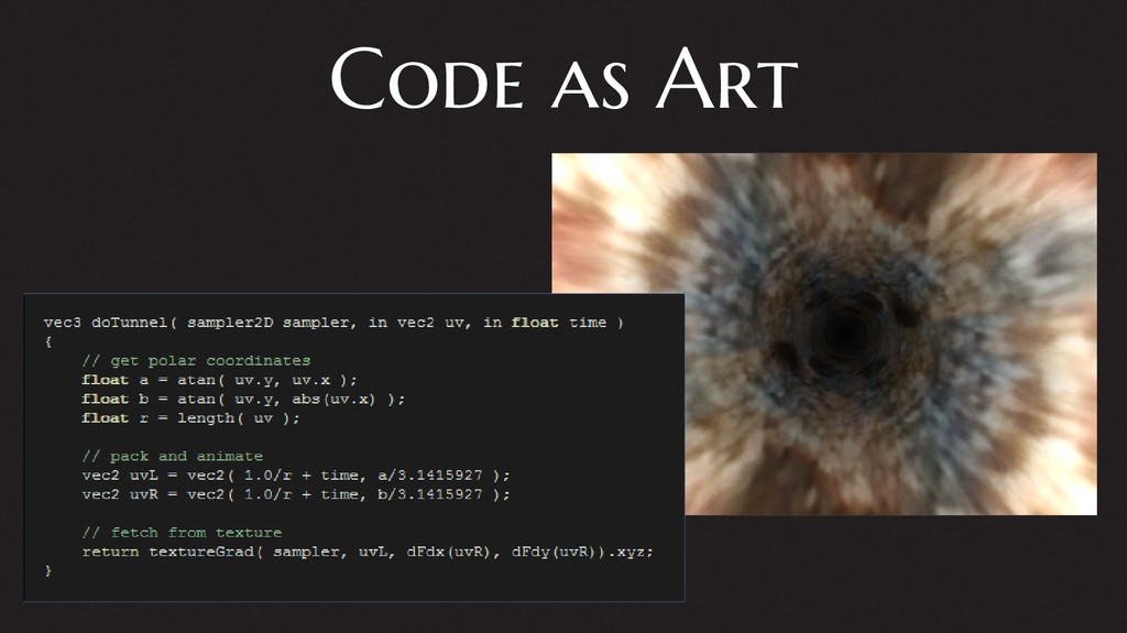 Code as Art