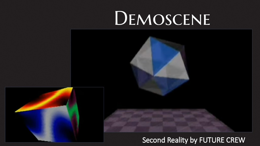 Demoscene Second Reality by FUTURE CREW