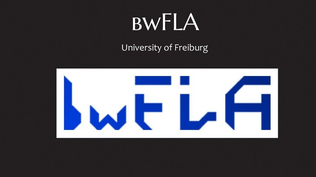 bwFLA University of Freiburg