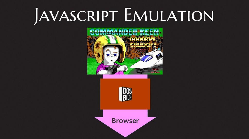 Javascript Emulation Reliable Storage Browser