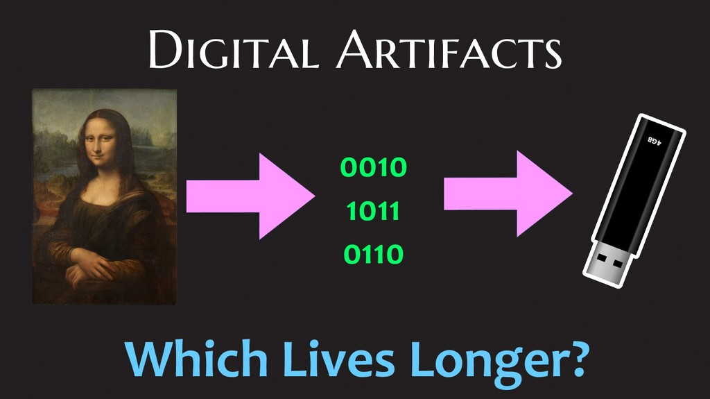 Digital Artifacts 0010 1011 0110 Which Lives Lo...