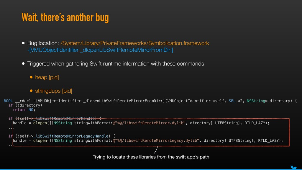 Wait, there's another bug • Bug location: /Syst...