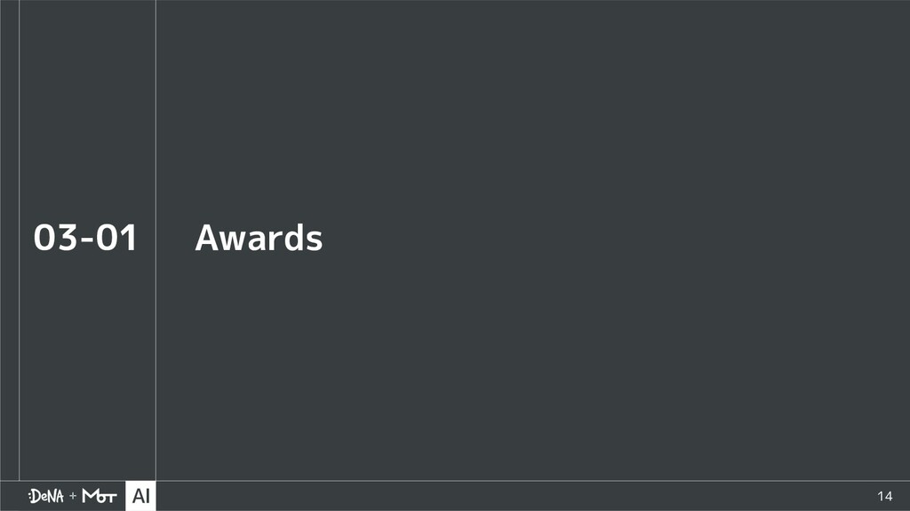 14 Awards 03-01