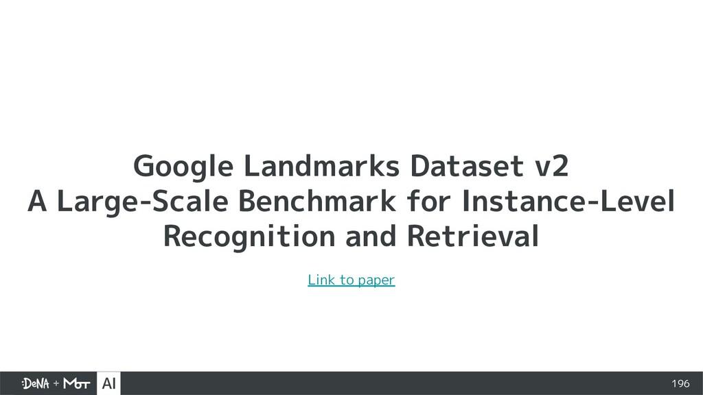 Google Landmarks Dataset v2 A Large-Scale Bench...