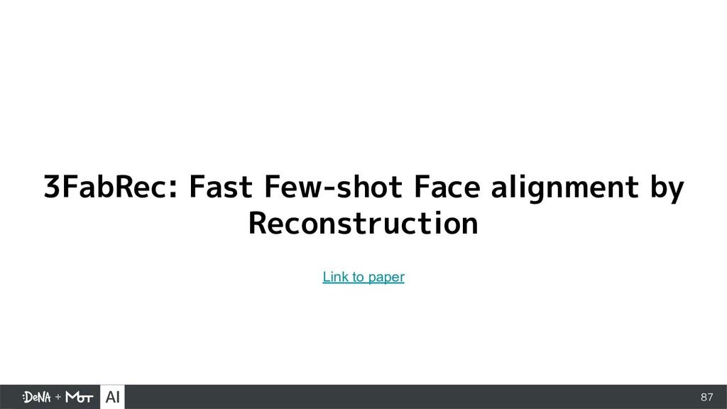 87 3FabRec: Fast Few-shot Face alignment by Rec...