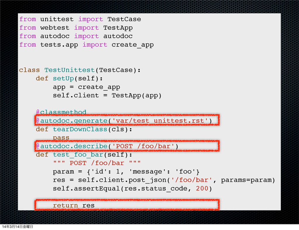 from unittest import TestCase from webtest impo...