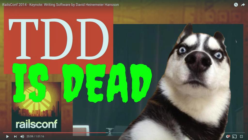 IS DEAD