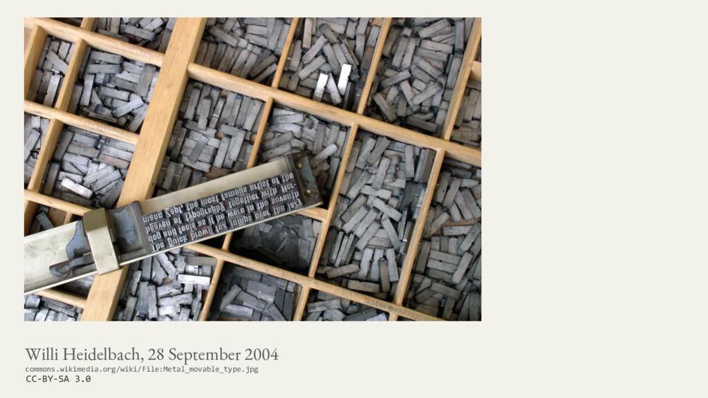 Willi Heidelbach, 28 September 2004 commons.wik...