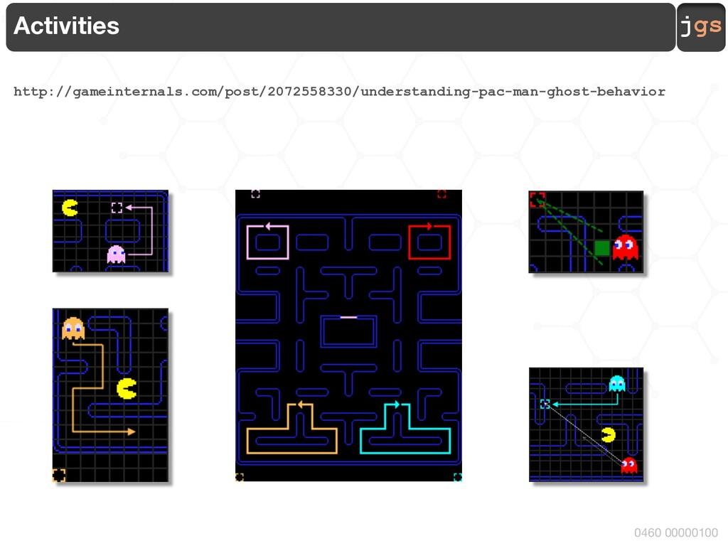 jgs 0460 00000100 Activities http://gameinterna...